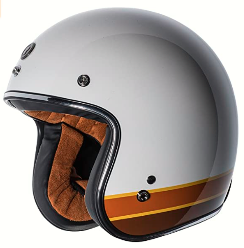 TORC T50 Route 66 Lucky 13 Open Face Helmet with Craneo Graphics