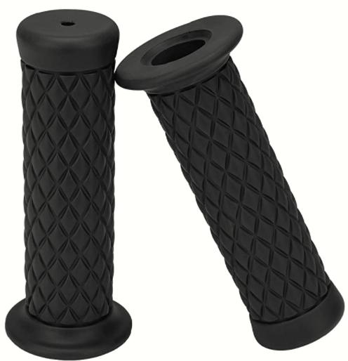 Techjayse 78 Universal Motorcycle Hand Bar Grips Pillow Grip Anti-Slip Rubber Racing Grip